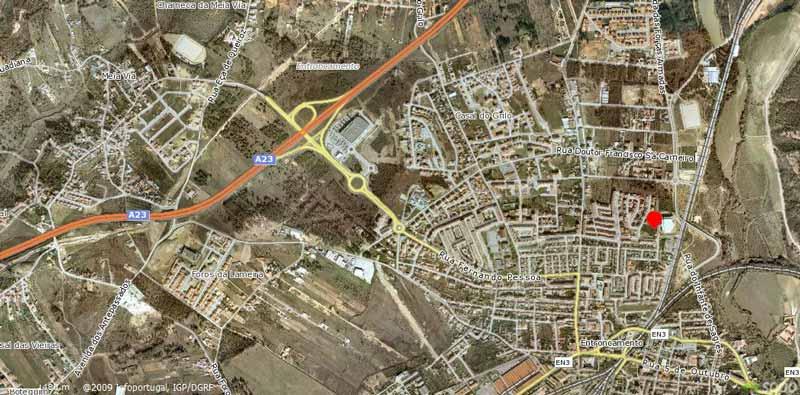 mapa do entroncamento Clube União Micaelense   Hóquei em Patins   Pavilhão do Entroncamento mapa do entroncamento